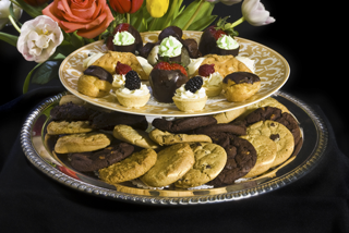 Assorted Cookies & Puff Pastries - Desserts