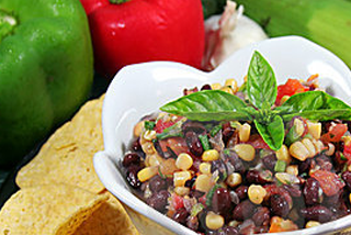 Blackbean and Corn Salsa