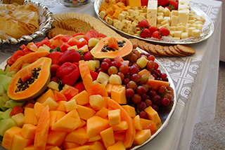 Cheese Fruit Montage - Hors D'oeuvres